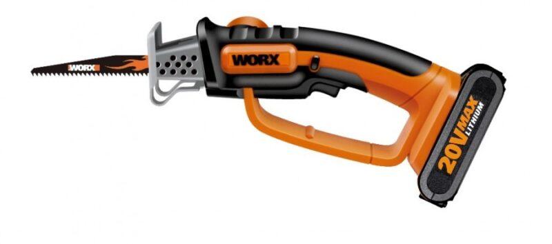 Akuga käsisaag WG894E, 20 V Max Li-ion, 2,0 Ah, Worx